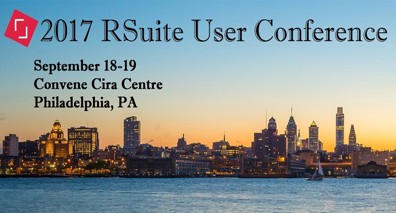 The 10th Annual RSuite®User Conference is Upon Us!